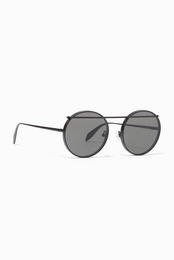 hover state of Metal Piercing Sunglasses