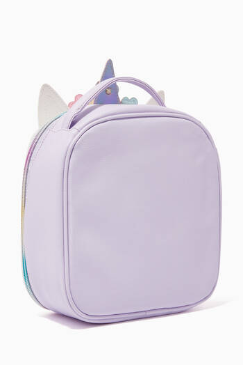 hover state of Flower Crown Unicorn Lunch Bag
