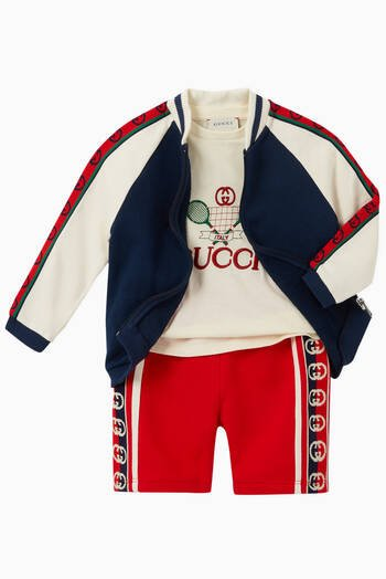 hover state of Gucci Tennis Cotton T-Shirt