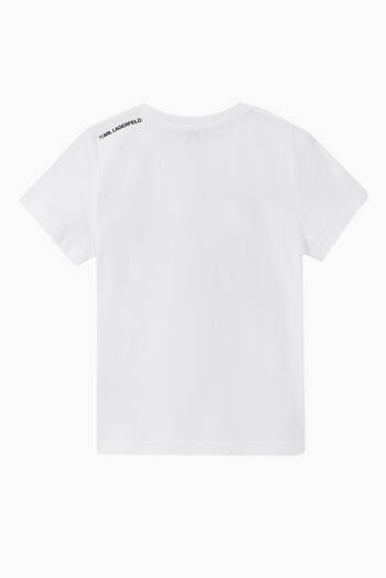 hover state of KARL Logo Cotton T-Shirt