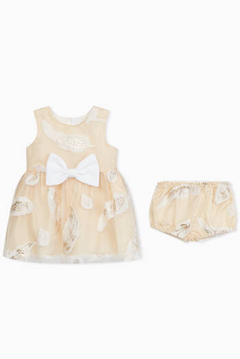 hover state of Bodice Dress & Bloomers, Set of 2