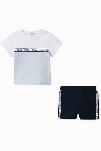 hover state of Jersey T-Shirt & Shorts