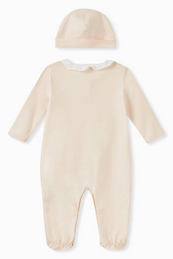hover state of Organic Cotton Pajamas & Hat Gift Set