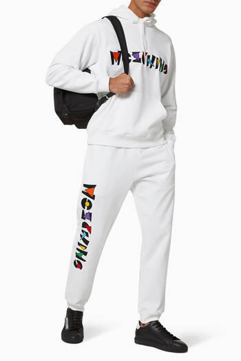 hover state of Art Deco Cotton Fleece Sweatpants