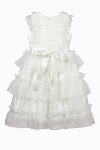 hover state of Tiered Organza Dress