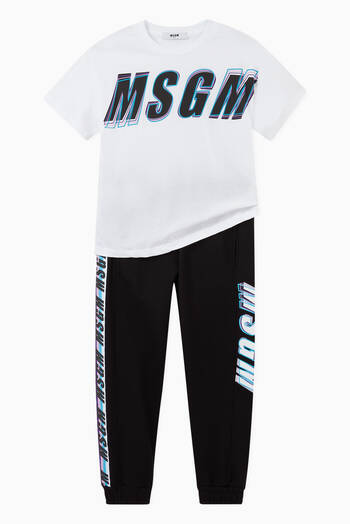 hover state of Logo Tracksuit Sweatpants