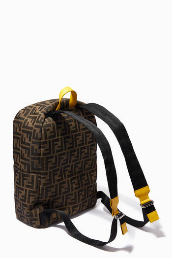 hover state of Monster Eyes Backpack in FF Jacquard