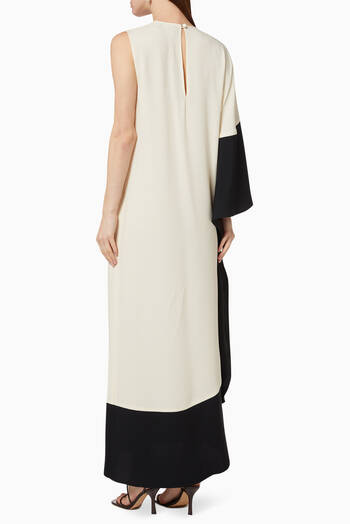 hover state of Bianca One-Shoulder Asymmetrical Dress