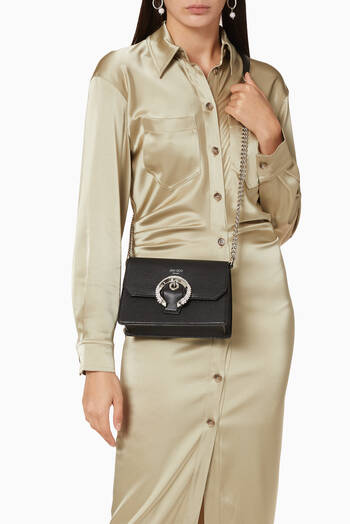 hover state of Madeline Crossbody Bag in Goat Leather