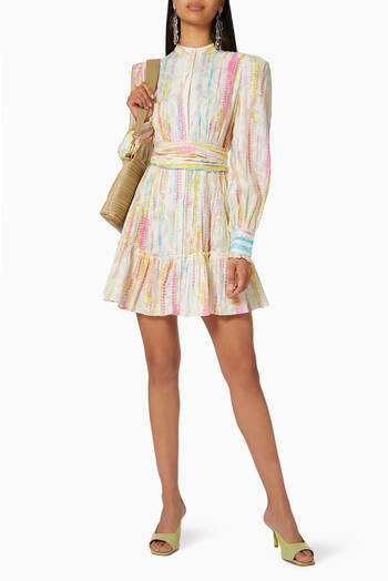 hover state of Tie-Dye Short Dress