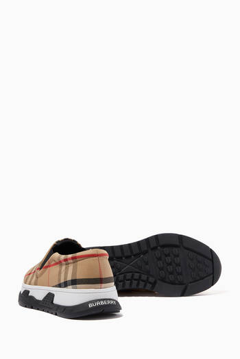 hover state of Slip-on Sneakers in Vintage Check Cotton