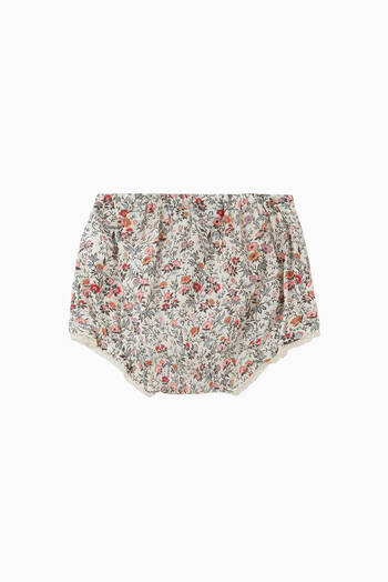 hover state of Liberty Floral Print Bloomers