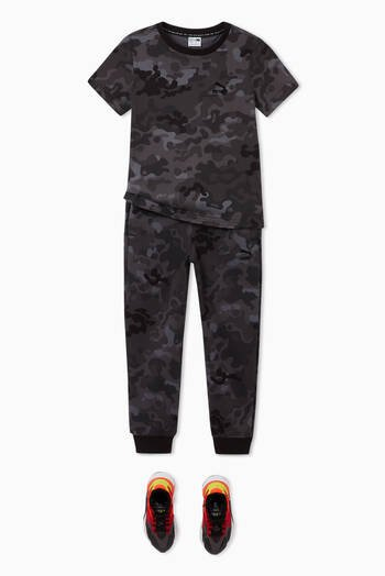 hover state of Classics Camo Print Cotton Sweatpants