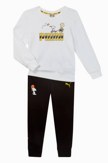 hover state of Youth Peanuts Sweatpants