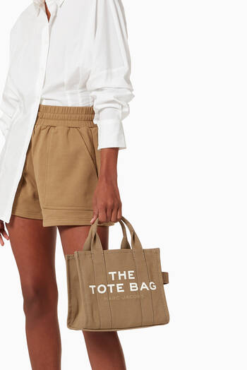 hover state of Mini Traveler Tote Bag in Canvas