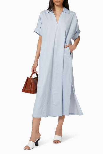 hover state of Cotton Silk Dress