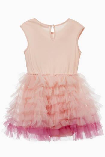hover state of Bébé Hawaii Tulle Tutu Dress