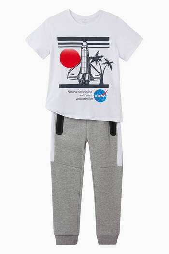 hover state of Nasa Rocket T-shirt in Cotton