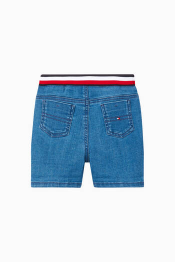 hover state of Turn Up Denim Shorts