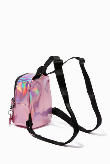 hover state of Iridescent Mini Backpack