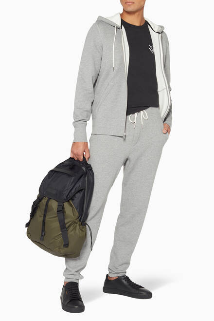 hover state of Heather Grey Classic Drawstring Jogging Pants