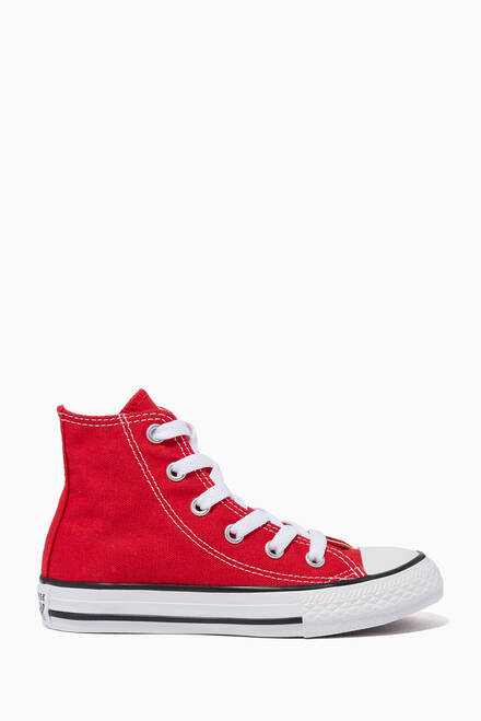 hover state of Red Chuck Taylor® All Star Sneakers