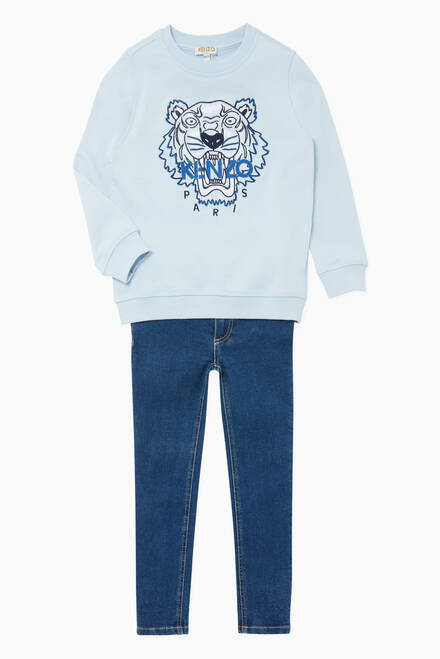 hover state of Tiger Embroidered Sweatshirt