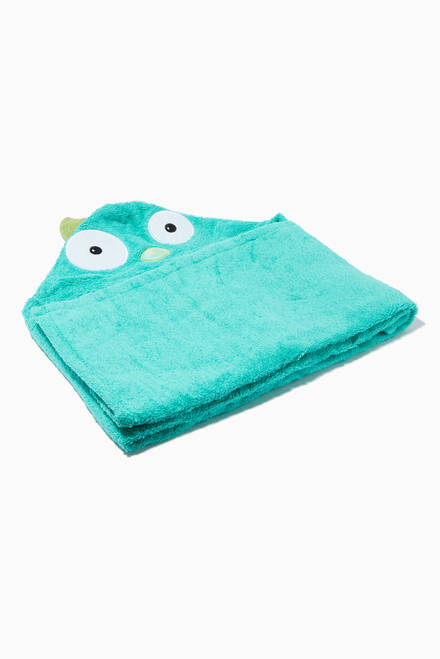 hover state of Monster Turquoise Hooded Towel