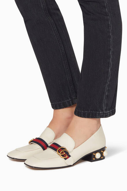 hover state of Peyton Pearl Heel Loafers