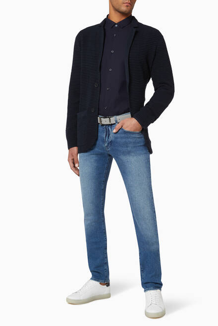 hover state of J13 Slim-Fit Stretch Denim Jeans