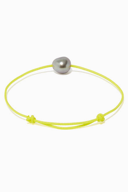hover state of Keshi Pearl Bracelet