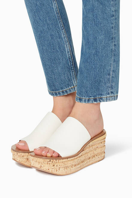 hover state of Camille Wedge Mules