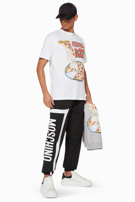 hover state of Logo Print Track Pants