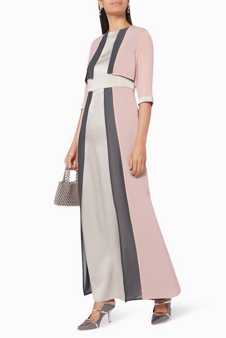 hover state of Layered Maxi Dress