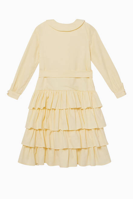 hover state of Ruffled Textured Dress