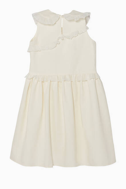 hover state of Ruffled Sleeveless Dress