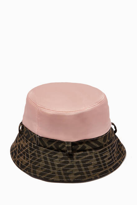 hover state of FF Logo Bucket Hat