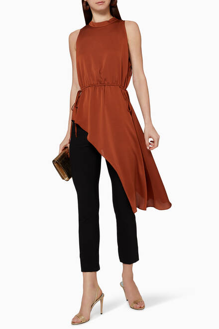 hover state of High Neck Asymmetric Top