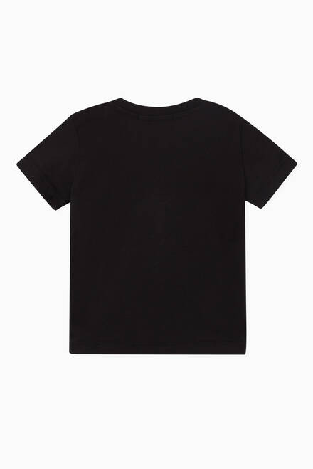 hover state of Logo Shadow Cotton T-Shirt