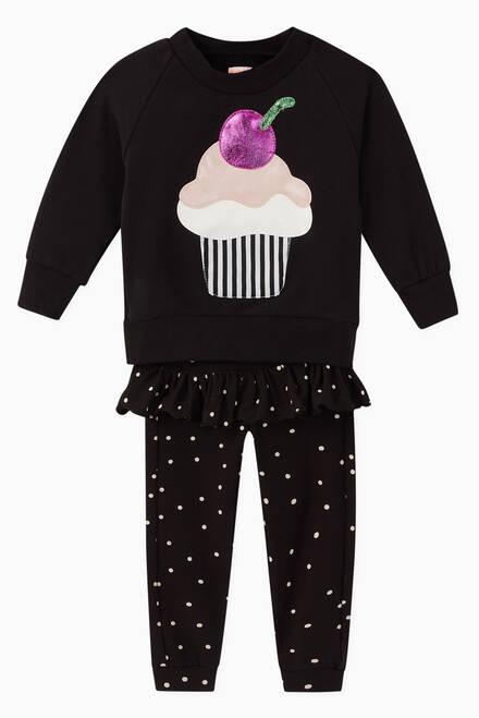 hover state of Sweet Cupcake Jersey Sweatshirt