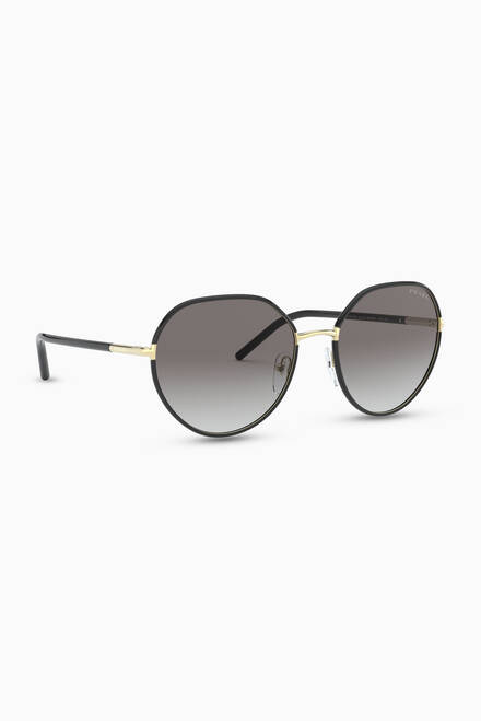 hover state of Irregular Sunglasses in Metal