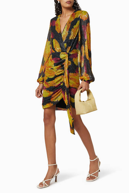 hover state of Astoria Printed Mini Dress