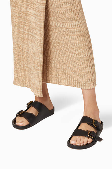 hover state of Lennyo Sandals in Leather