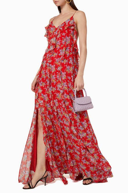 hover state of Kate Floral Printed Dress