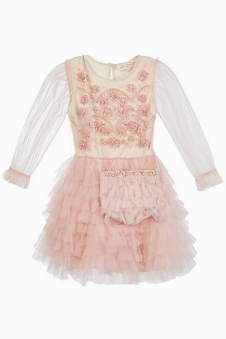 hover state of Cadence Tulle Cotton Tutu Dress