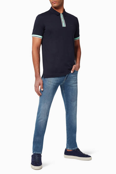 hover state of Phillipson 78 Slim Fit Polo T-Shirt