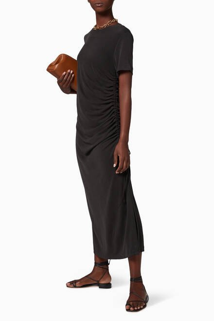 hover state of Lure In Maxi T-Shirt Dress
