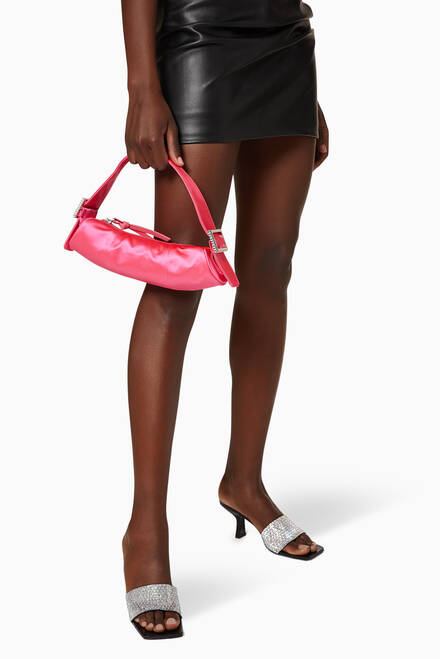 hover state of Kubi Top Handle Bag in Silk