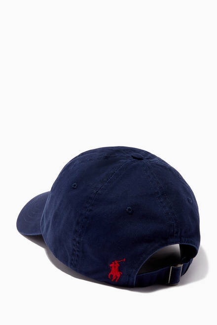 hover state of Baseball Cap in Cotton Chino