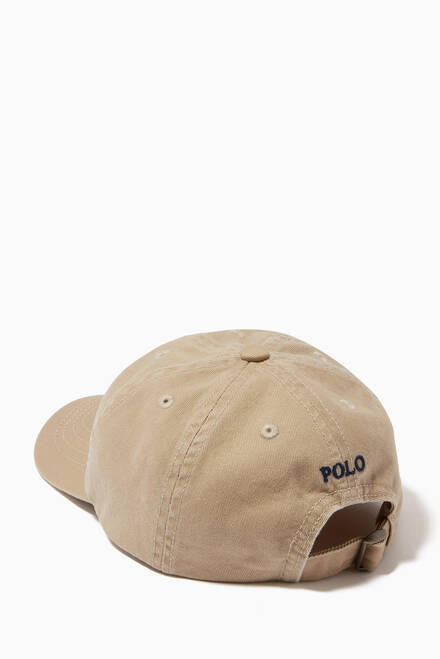 hover state of Big Pony Chino Baseball Cap in Cotton